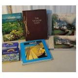 Box books - Salvador dali, Claude monet, Thomas