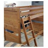 Bunk bed set with ladder with the hardware