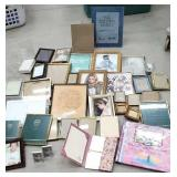 Box frames and scrapbooking album