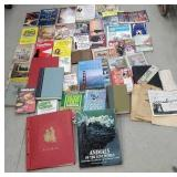 Box books - gardening, cooking, royalty, etc