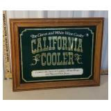California wine cooler advertising