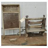 Washboard and wringers - need cleaning up