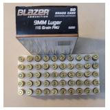 Cci blazer 9mm 115gr 1 full box