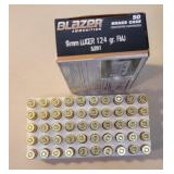 Cci blazer 9mm 124gr 1 full box