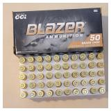 Cci blazer 9mm 124gr 1 full box