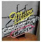 Miller genuine draft neon light