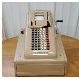 Victor cash register with keys -  **Has damage