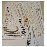 Box jewelry - elephant necklace, butterfly, etc