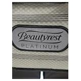 Beauty rest platinum king size mattress and split