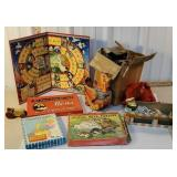 Box of toys - Fisher-Price Katy kackler, games,