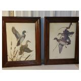 2 Wm Zimmerman duck prints