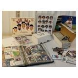 Group of baseball cards etc includes album and