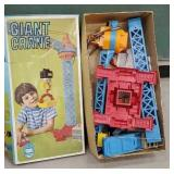 Giant toy crane with original box