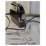 Hamilton Beach handheld mixer with attachments