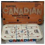 Electric Canadian hockey game