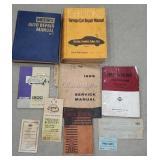 Box of automotive related ephemera