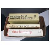 3 Gardening & canning Books