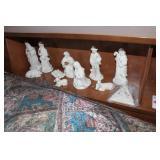 10pc. Nativity set & Ornament