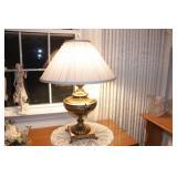 "Brass Lamp approx. 25"""