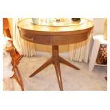 Mersman - End tables (2) & Drum Table