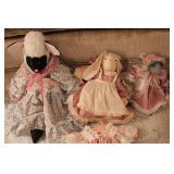 Stuffed animal dolls
