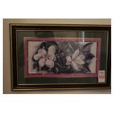 """Floral Framed print 15"""" x 22"""""""