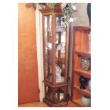 Glass Front Lighted China Cabinet 6