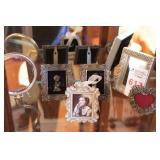 6 Small Picture Frames & Mirrors