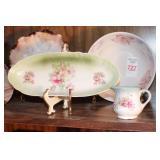 6pc China Plates & Dishware