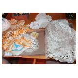 2 Boxes Doilies & Table Runners