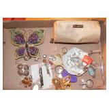 Box of Key chains, Wall Hangings, Chandelier parts