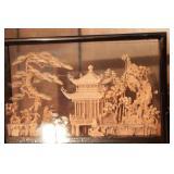Asian Shadow Box Decoration