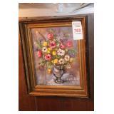 Floral Oil Artwork
