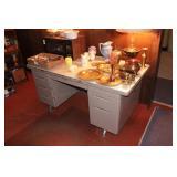 Retro Metal Office Desk