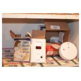 Smoke Alarms & Monoxide Detectors