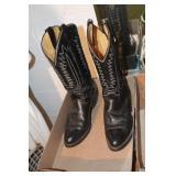 Mason 8.5 EE Leather Cowboy Boots