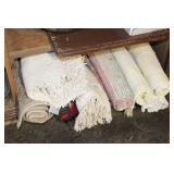 8pc Rag Rugs & Others