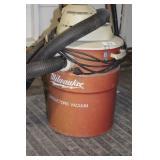 Milwaukee Canister Vacuum works