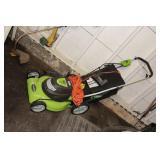 GreenWorks Electric Push Mower like new