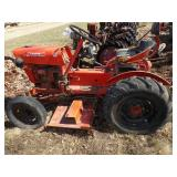 economy 14 hp tractor Power King
