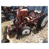 Gibson tractor - Red w/ Front Blade