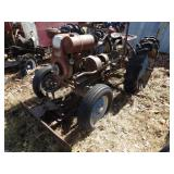 Gibson Tractor - Blue Wheel w/ Front Blade