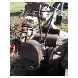 Tiller chassis repower project