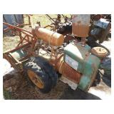 Air cooled Wisconsin model TF tiller