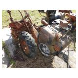 Heavy duty big wheel tiller