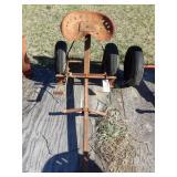 2 wheel sulky w/ brakes