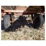 Gravely 2 wheel cart for repair