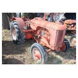 Case D farm tractor