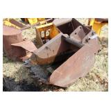 "Backhoe bucket 24"" with 5 teeth"