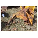 "backhoe scraper blade head 30.5"" wide"